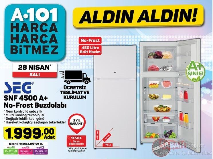 A101 28 Nisan 2020 aktüel ürünler kataloğu yayınlandı! A101 aktüel ürünler kataloğu TAM LİSTE BURADA...
