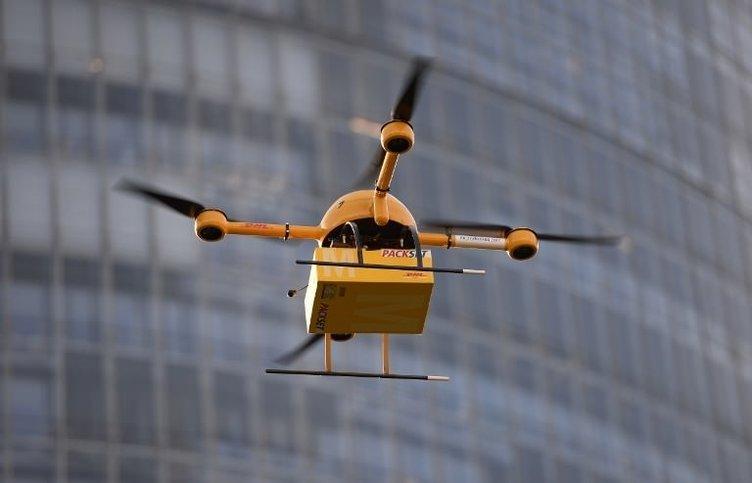 Postacı 'drone'lar deneniyor