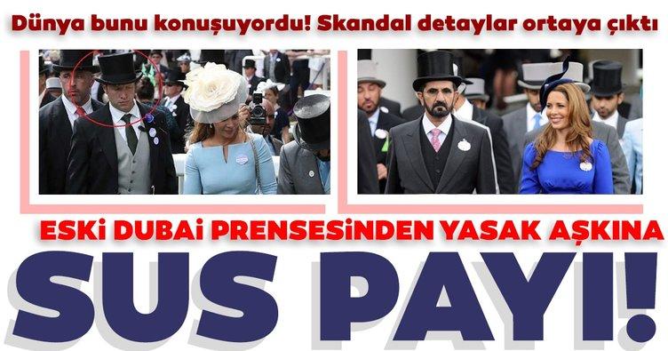 Son dakika: Eski Dubai Prensesi Haya'danyasak aşkına sus payı ödedi