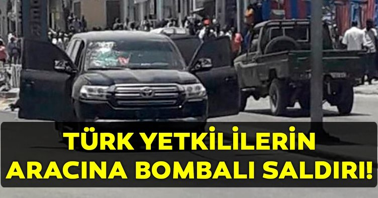Son dakika: Somali'de Türkiye Maarif Vakfı'na ait araca yapılan bombalı saldırı!