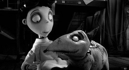 Frankenweenie filminden kareler