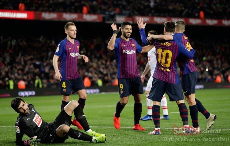 Lionel Messi bir kez daha tarihe geçti! Ronaldo'ya büyük fark