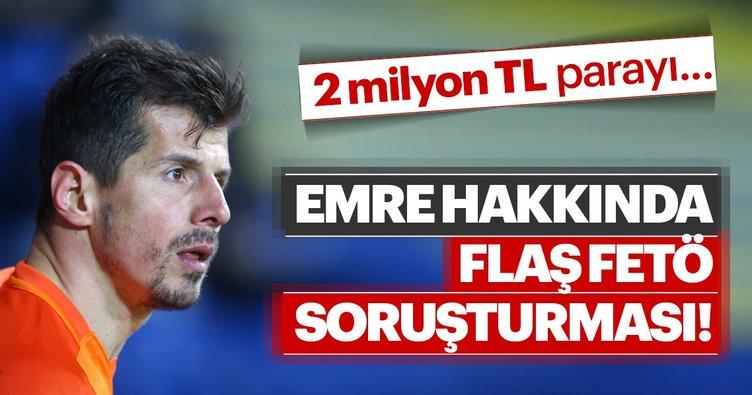 Emre Belözoğlu hakkında 2 Milyon soruşturması!