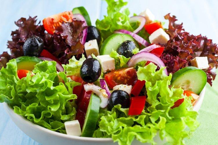 Hangi salata kaç kalori?