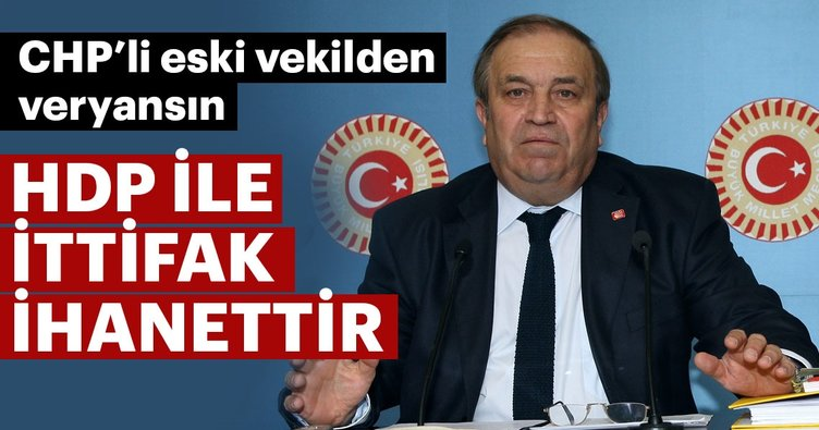 HDP'yle ittifak ihanettir