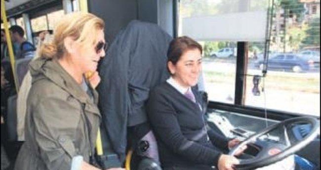 İETT kadın yolcuları istedikleri yerde indirecek