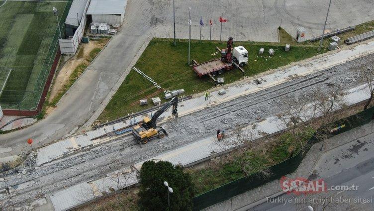 İstanbul'da feci olay! İBB inşaatı çöktü