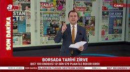 Borsa'da tarihi zirve! Bıst 100 endeksi 121 bin 579 puan ile rekor kırdı