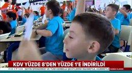 Özel okullara KDV indirimi! Resmi Gazete'de özel okul KDV oranı düzenlemesi yayınlandı   Video