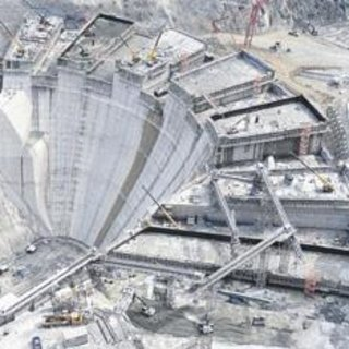 Yusufeli Barajı ve HES'in % 70'i bitti