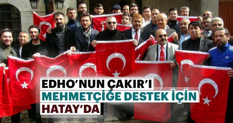Eşkıya Dünyaya Hükümdar Olmaz'ın oyuncuları Mehmetçik'e destek için Hatay'da