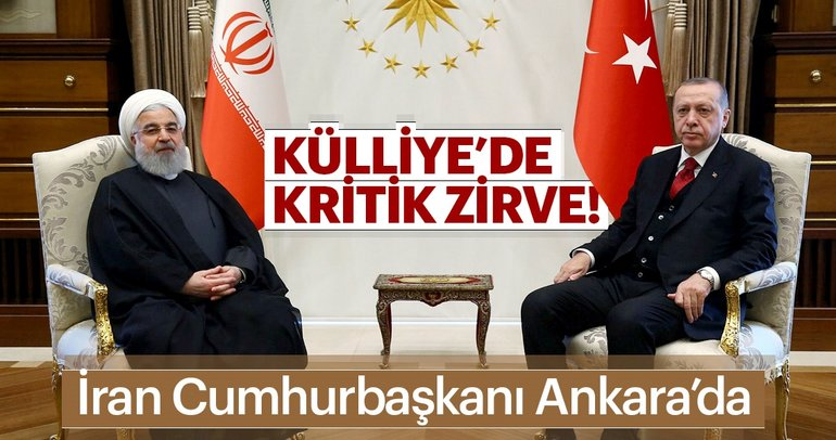 Son Dakika: Erdoğan-Ruhani görüşmesi başladı!