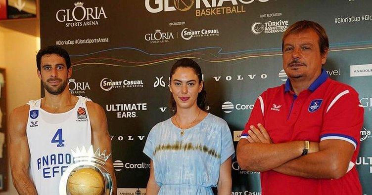 Gloria Cup Uluslararası Basketbol Turnuvası'nda şampiyon Anadolu Efes!