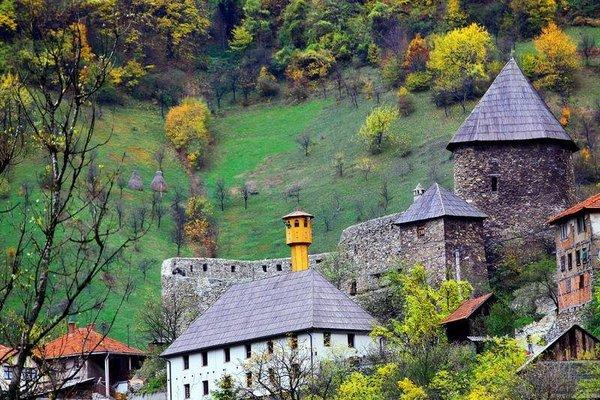 Bosna-Hersek'te sonbahar
