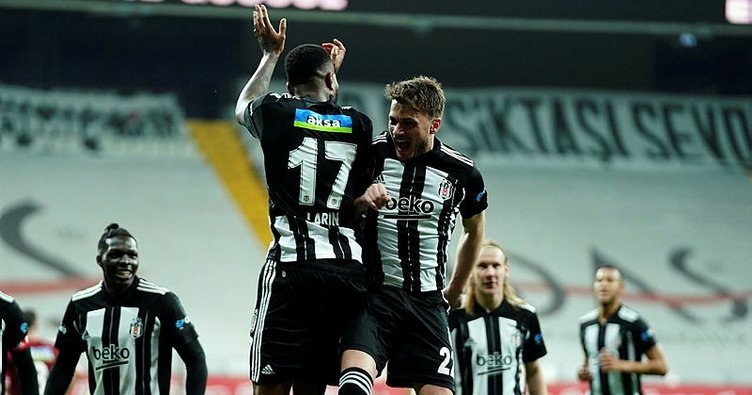 Son dakika: Vodafone Park'ta flaş skor! Beşiktaş Hatayspor karşısında ilk yarıda 5 gol buldu