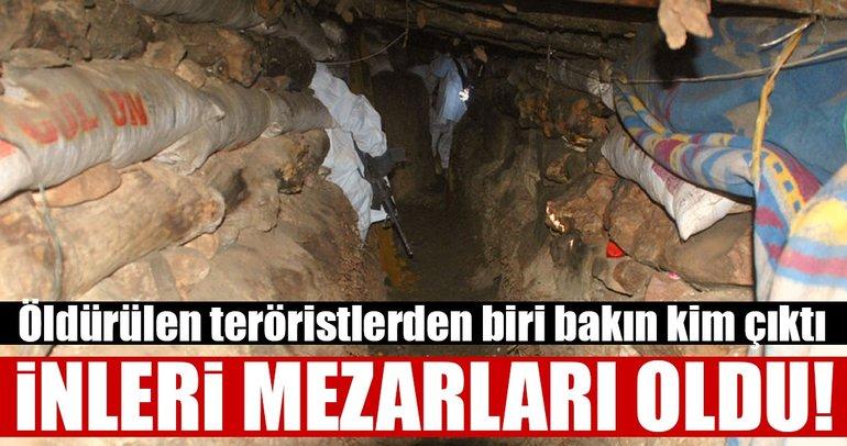 İnleri mezarları oldu! Çok sayıda terörist öldürüldü