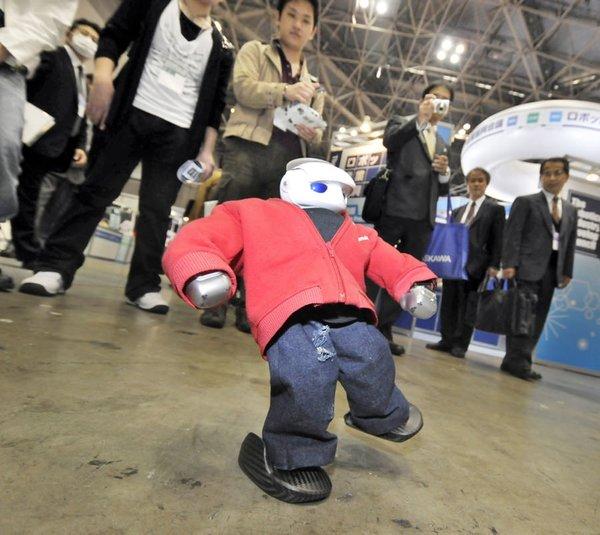 Break dans yapan robot