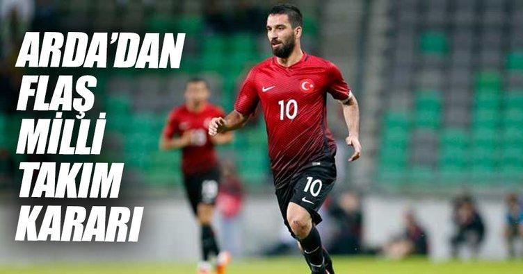 Arda Turan'dan milli takım açıklaması