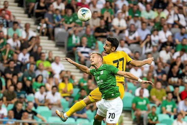 Olimpija Ljubljana - Yeni Malatyaspor maçında Farnolle'e ırkçı saldırı