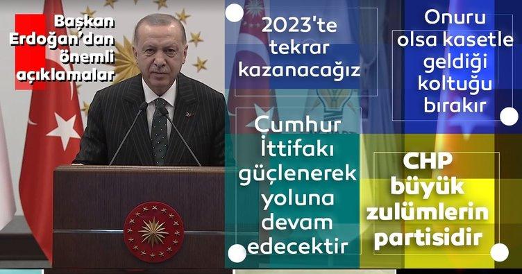 Son dakika haberi | Başkan Erdoğan'dan 2023 mesajı: Tekrar kazanacağız...