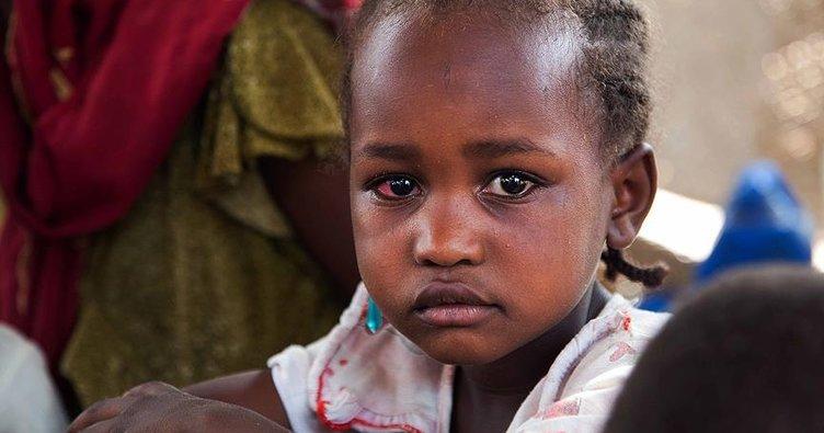 Güney Darfur'da on binlerce çocuk yetim