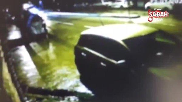 Kısıtlama saatinde seyir halindeki otomobil ile çekici böyle çarpıştı   Video