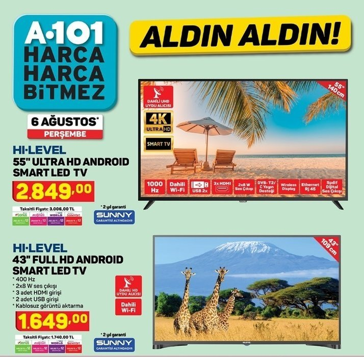 A101 6 Ağustos 2020 aktüel ürünler kataloğu ALDIN ALDIN indirimleri başlıyor! A101 aktüel ürünler indirim kataloğunda neler var?