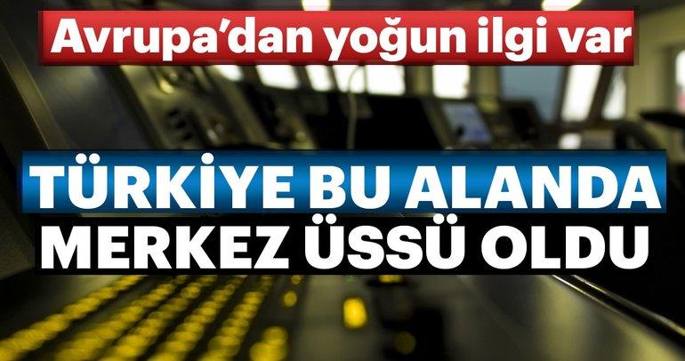 Türkiye hibrit gemi üretiminde üs oldu