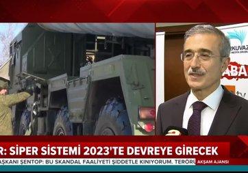 Son dakika! S-400'ler için tarih verildi! Savunma Sanayi Başkanı İsmail Demir A Haber'de yanıtladı | Video