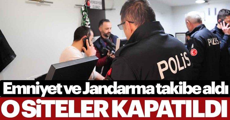 Emniyet ve Jandarma takibe aldı... 1360 internet sitesi erişime engellendi