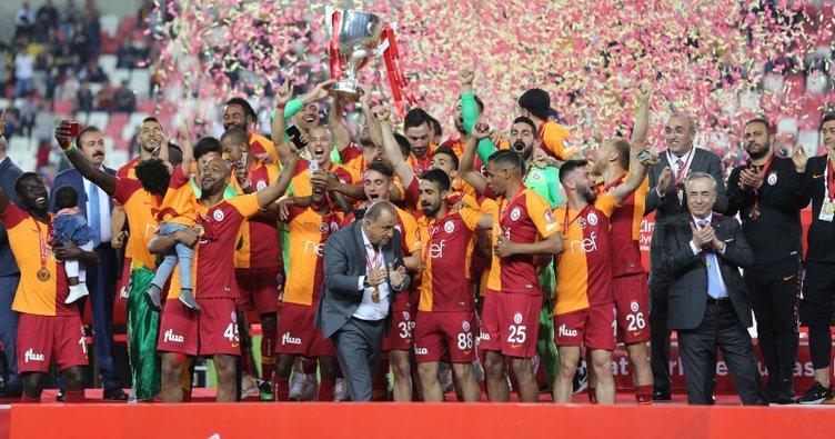 Ziraat Türkiye Kupası 18. kez Galatasaray'ın