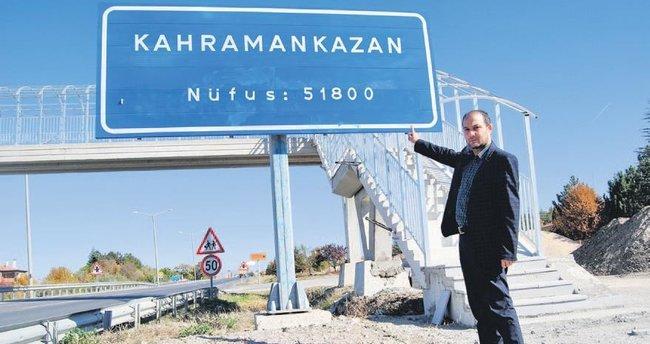 Kahramankazan'a Beştepe'den onay