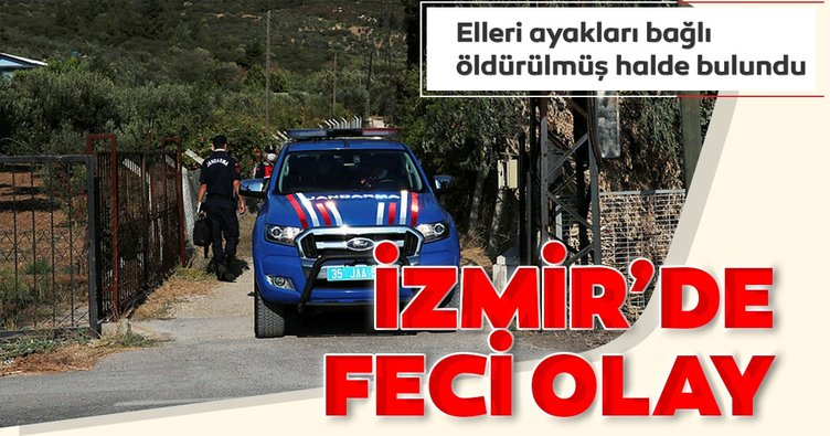 İzmir'de emekli öğretmen evinde ölü bulundu
