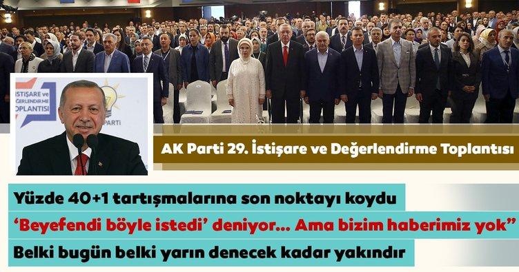 Son dakika: Başkan Erdoğan AK Parti Kızılcahamam Kampı'nda önemli açıklamalarda bulundu