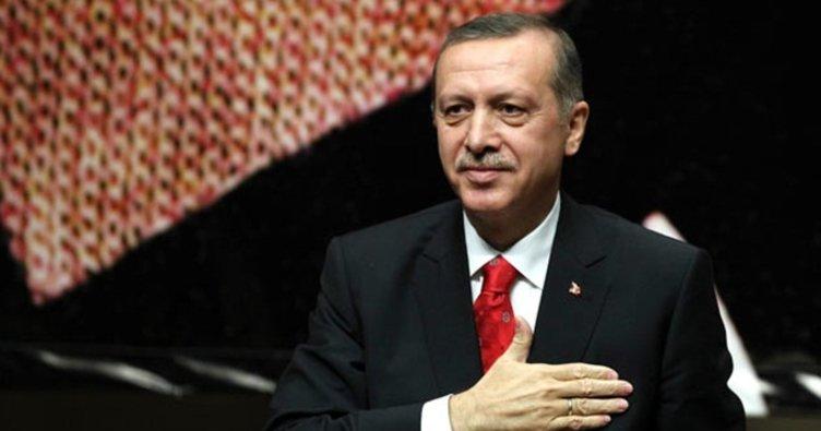 Cumhurbaşkanı Erdoğan Kırımlıoğlu'nu kabul etti