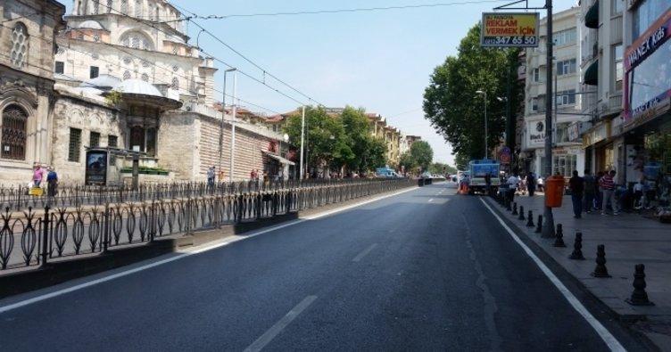 Aksaray'daki Ordu Caddesi Pazar günleri için yayalaştırıldı!