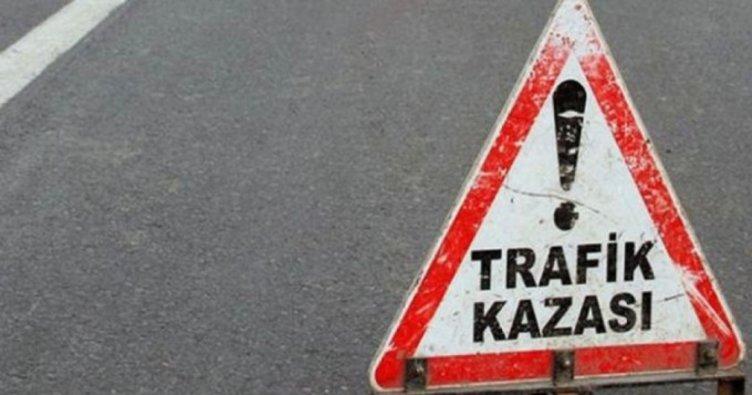 Kayseri'de polisten kaçan araç refüje çarpıp yan yattı: 1'i ağır 2 yaralı