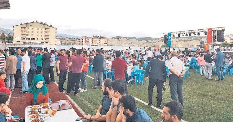 Tunceli'de birlik iftarı
