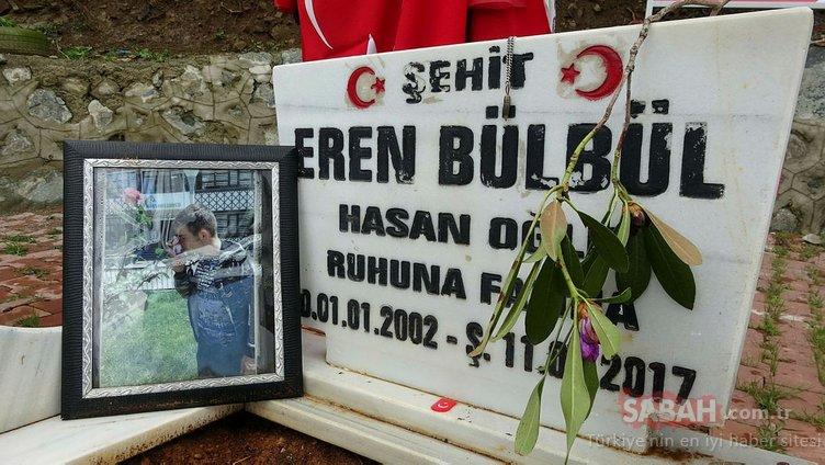 Şehit Eren Bülbül, doğum gününde unutulmadı