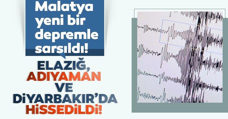 SON DAKİKA: Malatya'da korkutan yeni deprem! Elazığ, Adıyaman, Diyarbakır'da da hissedildi! AFAD ve Kandilli Rasathanesi son depremler listesi!