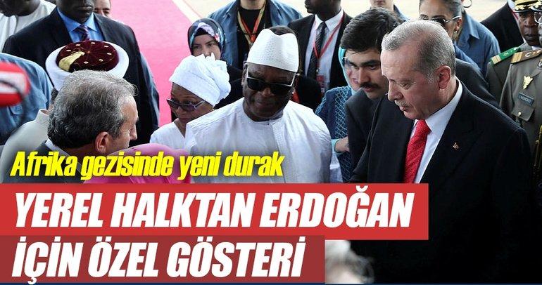 Cumhurbaşkanı Erdoğan Mali'de