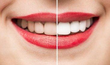 Diş ve diş etlerine karbonat sürüp 30 dakika bekleyin!