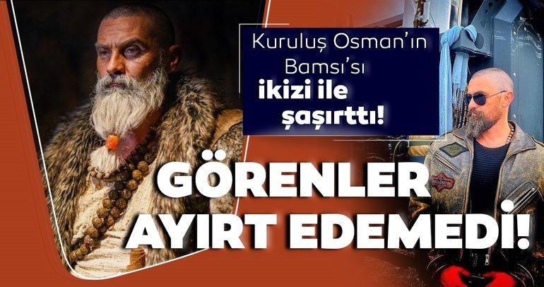 Kuruluş Osmanın Bamsısı Nurettin Sönmeze ikizi kadar benziyor... Hangisi Kuruluş Osmanın Bamsısı bilemediler!