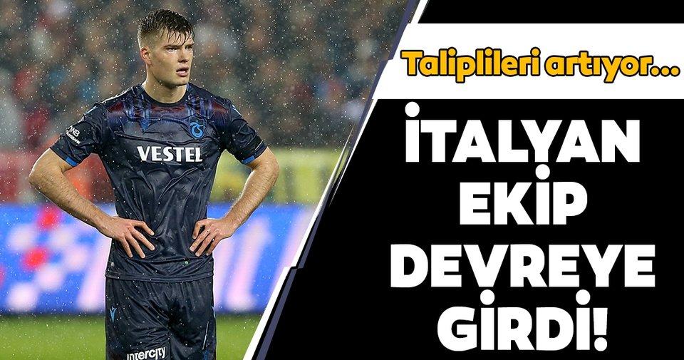 Trabzonspor'un golcüsü Sörloth için İtalyan devi Milan devrede!