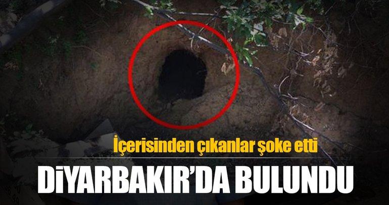 Diyarbakır'da PKK'ya ait tünel, mağara ve 3 sığınak imha edildi