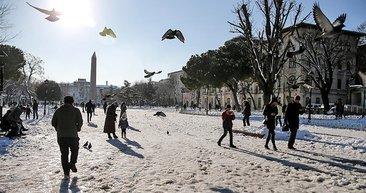 Yarıyıl tatilinde havalar mevsim normallerinde olacak