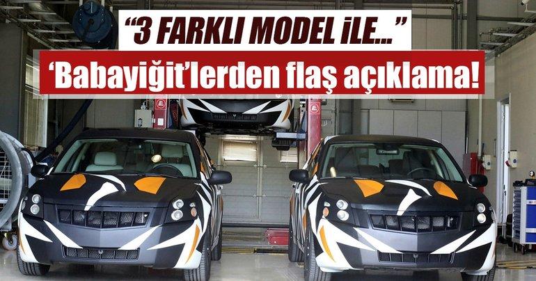 Yerli otomobil 3 farklı model ile piyasaya çıkacak