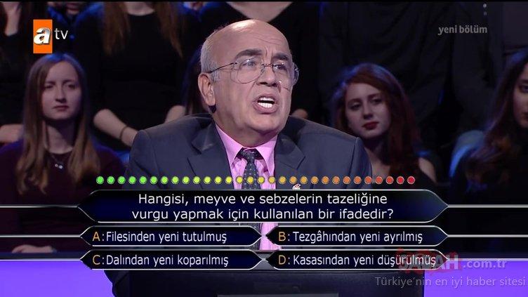 Kim Milyoner Olmak İster 787. bölüm soru ve cevapları