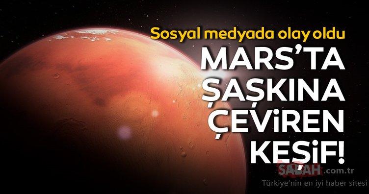 Mars'ta şaşkına çeviren Star Trek keşfi! Sosyal medyada olay oldu!
