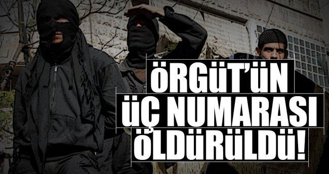 DEAŞ'ın üçüncü adamı 'Ebu Hamze' öldürüldü!
